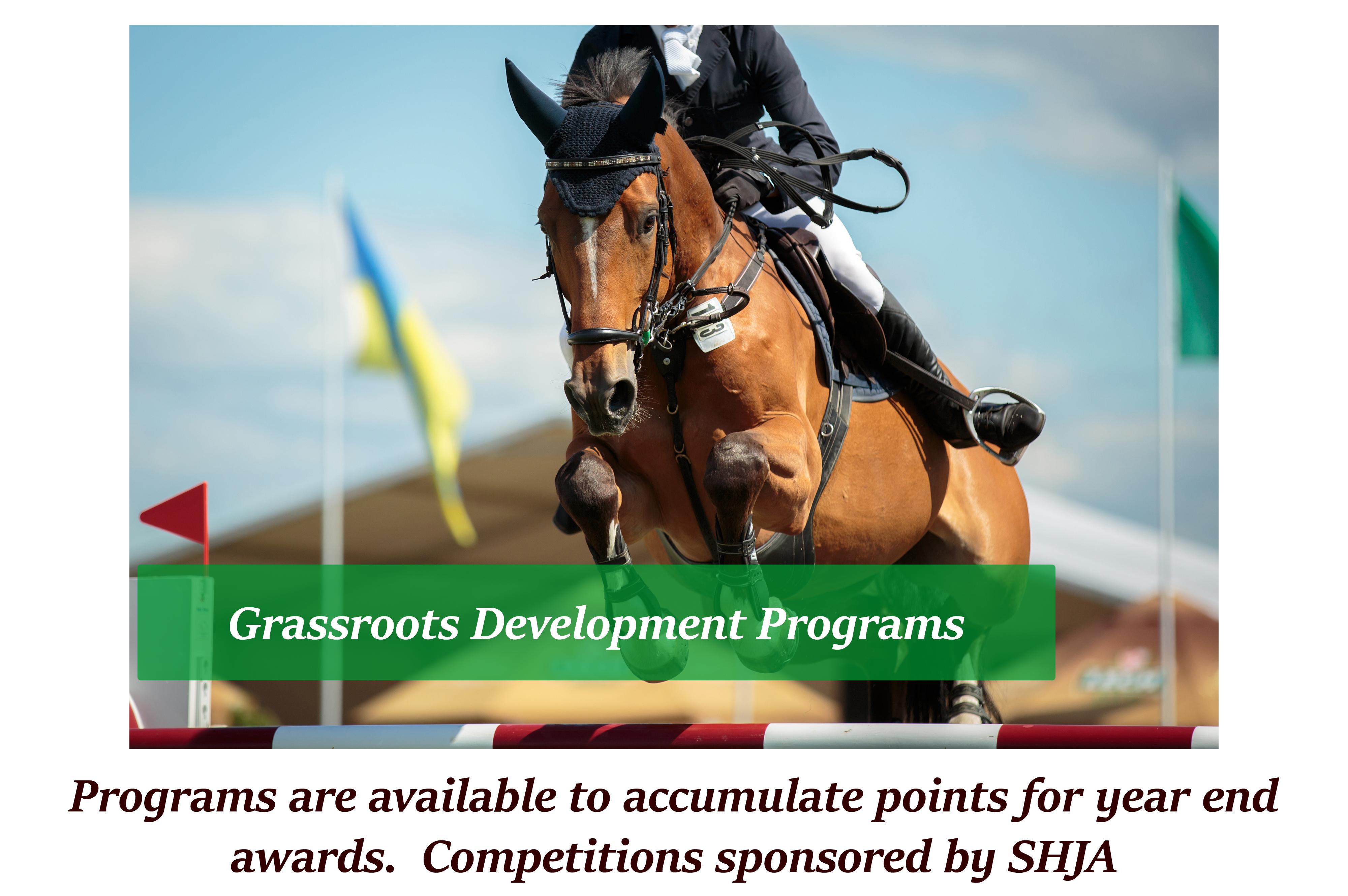 SHJA Grassroot Programs
