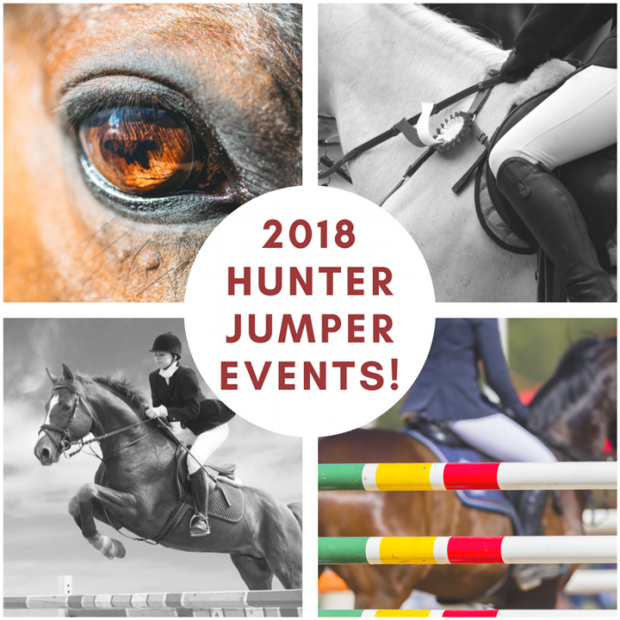 2018 Hunter Jumper Events